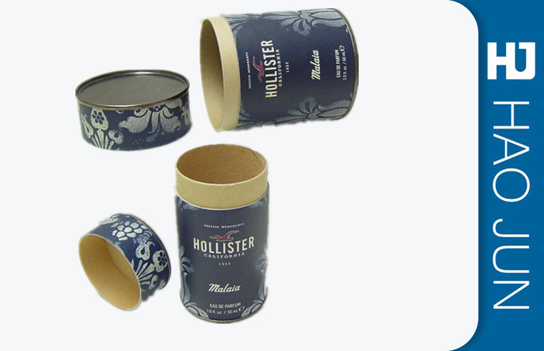 Cylinder Cardboard Storage Tubes Boxes Packaging For Coffee And Tea