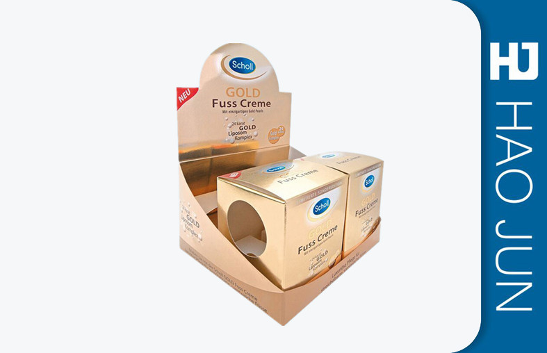 Recycled Packaging Cardboard Display Boxes Pop Display Stand For Promotion