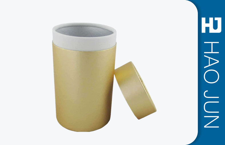Cylinder / Round Custom Printed Cardboard Tubes Package For Festival Gift